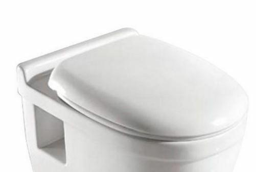 WC-Sitz Ibiza Klodeckel mit Absenkautomatik weiß B57392223 ehemalige UVP 32,99€ | WC Sitz Ibiza Klodeckel mit Absenkautomatik wei B57392223 UVP 3299 332820785711 5