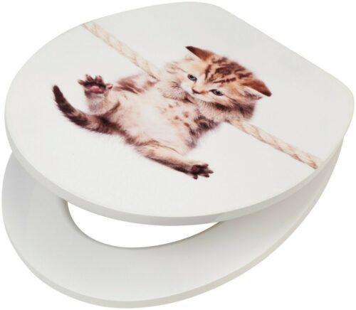 WC-Sitz Katze MDF Toilettensitz mit Absenkautomatik B22909045 ehemalige UVP 44,99€ | WC Sitz Katze MDF Toilettensitz mit Absenkautomatik B22909045 UVP 5499 233410459872