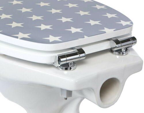 WC-Sitz Sterne/Stars moderner Toilettensitz Absenkautomatik B93195811 UVP 59,99€ | WC Sitz SterneStars moderner Toilettensitz Absenkautomatik B93195811 UVP 5999 233567361400 6