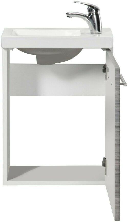WELLTIME Waschplatz-Set Trento SlimLine Waschtisch B40 cm B50800140 UVP 199,99 € | WELLTIME Waschplatz Set Trento SlimLine Waschtisch B40 cm B50800140 UVP 19999 333611064018 3