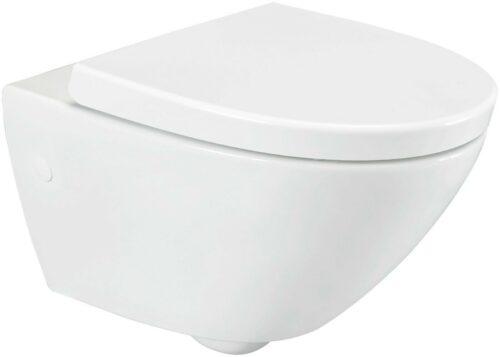 Wand WC Spring Toilette spülrandlos WC-Sitz Softclose B48520810 ehemalige UVP 279,99€ | Wand WC Spring Toilette splrandlos WC Sitz Softclose B48520810 UVP 27999 333529975594