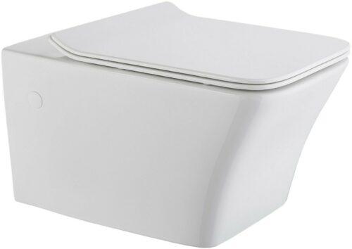 Wand-WC Trento eckig WC-Sitz mit Softclose B64842401 ehemalige UVP 299,99€ | Wand WC Trento eckig WC Sitz mit Softclose B64842401 UVP 29999 333556997313