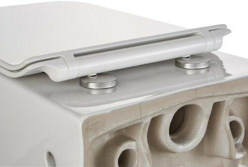 Wand-WC Trento eckig WC-Sitz mit Softclose B64842401 ehemalige UVP 299,99€ | Wand WC Trento eckig WC Sitz mit Softclose B64842401 UVP 29999 333556997313 8