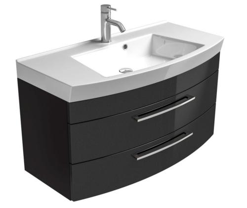 Waschplatz Waschtisch Roma Waschbecken 100cm schwarz B587084 UVP 599,99€ | Waschplatz Waschtisch Roma Waschbecken 100cm schwarz B587084 UVP 59999 333374556651