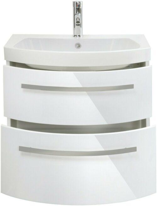 Waschtisch »Flow«, weiß Breite 65 cm, (2-tlg.) B235316 UVP 599,99 €   Waschtisch Flow wei Breite 65 cm 2 tlg B235316 UVP 59999 233138975221 2