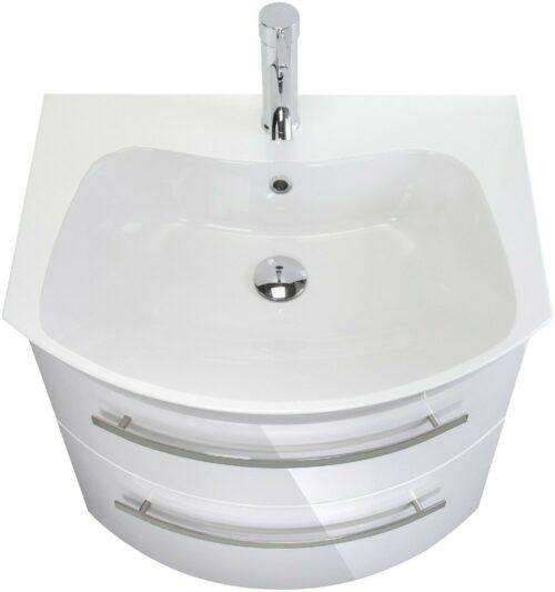 Waschtisch »Flow«, weiß Breite 65 cm, (2-tlg.) B235316 UVP 599,99 €   Waschtisch Flow wei Breite 65 cm 2 tlg B235316 UVP 59999 233138975221 3