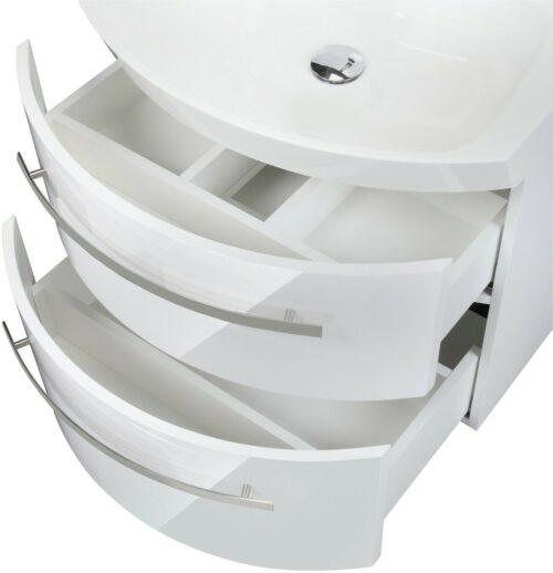 Waschtisch »Flow«, weiß Breite 65 cm, (2-tlg.) B235316 UVP 599,99 €   Waschtisch Flow wei Breite 65 cm 2 tlg B235316 UVP 59999 233138975221 4