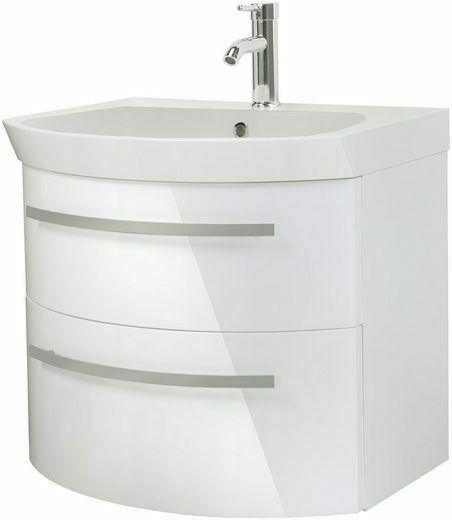 Waschtisch »Flow«, weiß Breite 65 cm, (2-tlg.) B235316 UVP 599,99 €   Waschtisch Flow wei Breite 65 cm 2 tlg B235316 UVP 59999 233138975221