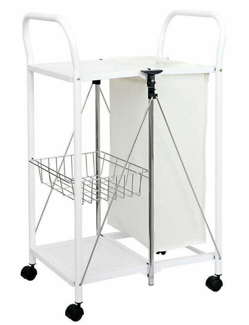 Wäschesammler Wäschewagen weiß B163500 ehemalig  UVP 99,90€ | Wschesammler Wschewagen wei UVP 9990 163500 232480479059